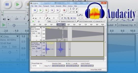 Utilizar Editor De Audio Audacity
