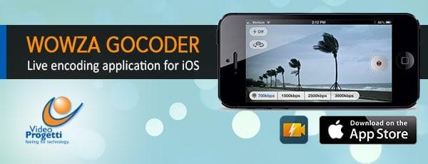 Emitir Por APP: GoCoder